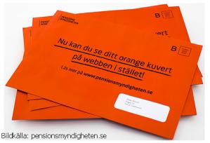 Orange kuvert