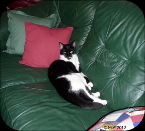 Mia i soffan