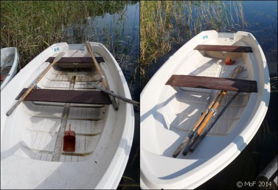 Båten före o efter