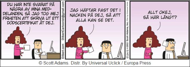 Dilbert 1 mars