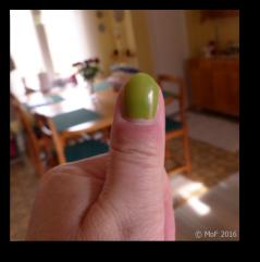 Grön tumme